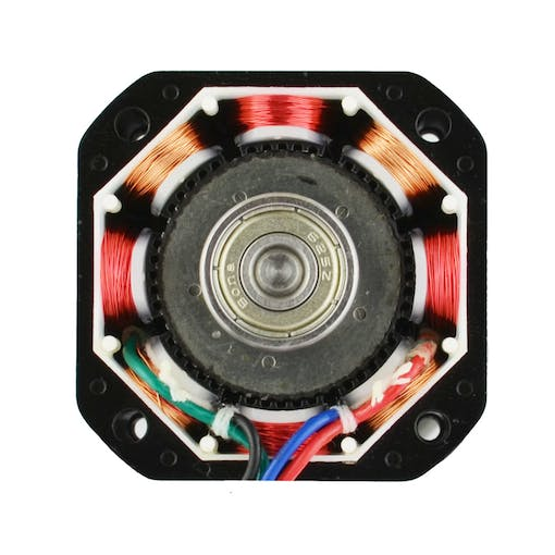 two phase stepper motor