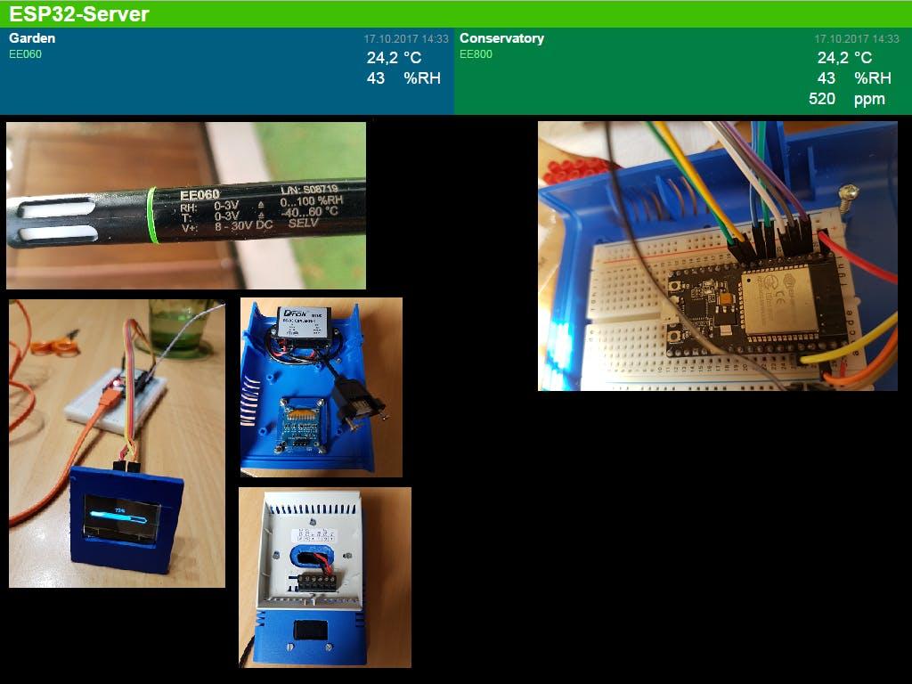 ESP32 BLE environmental gatt server
