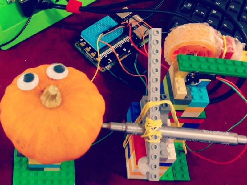 Raspi Lego Pumpkin Beautifier