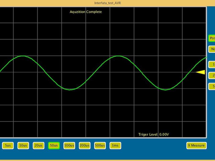 Arduino oscilloscope hackster