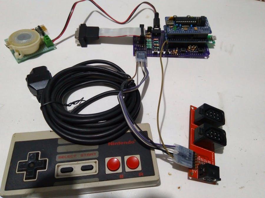 NES on MAX10 FPGA - Hackster io