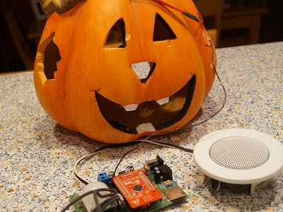 CyHalloween - Sound & Illumination (PSoC 4 BLE)
