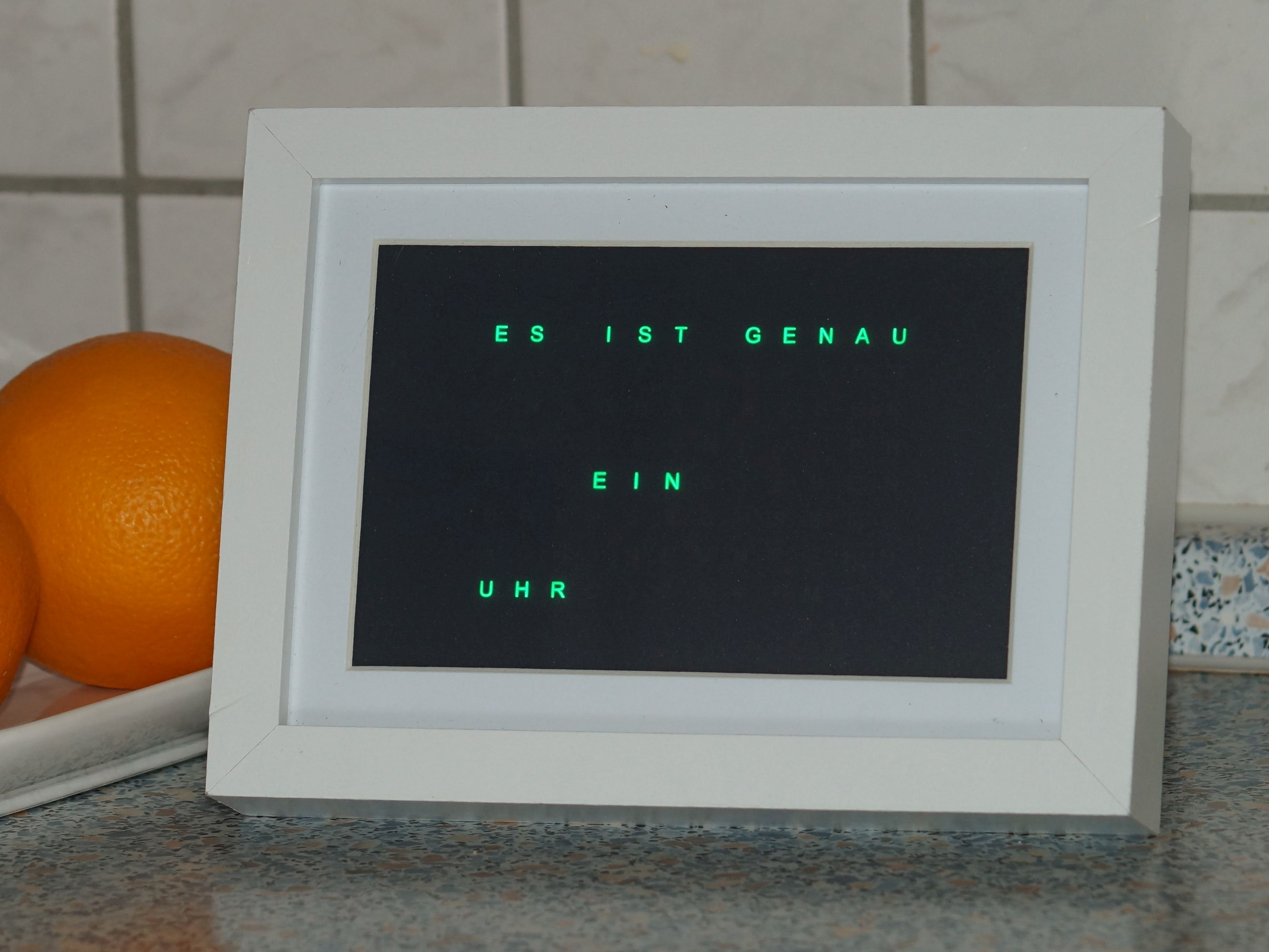 CyWordClock - Time Goes Slowly! (PSoC 4 BLE)