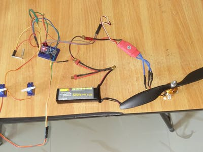 DIY RC Plane 4 Channel Transmitter – Receiver Using Arduino