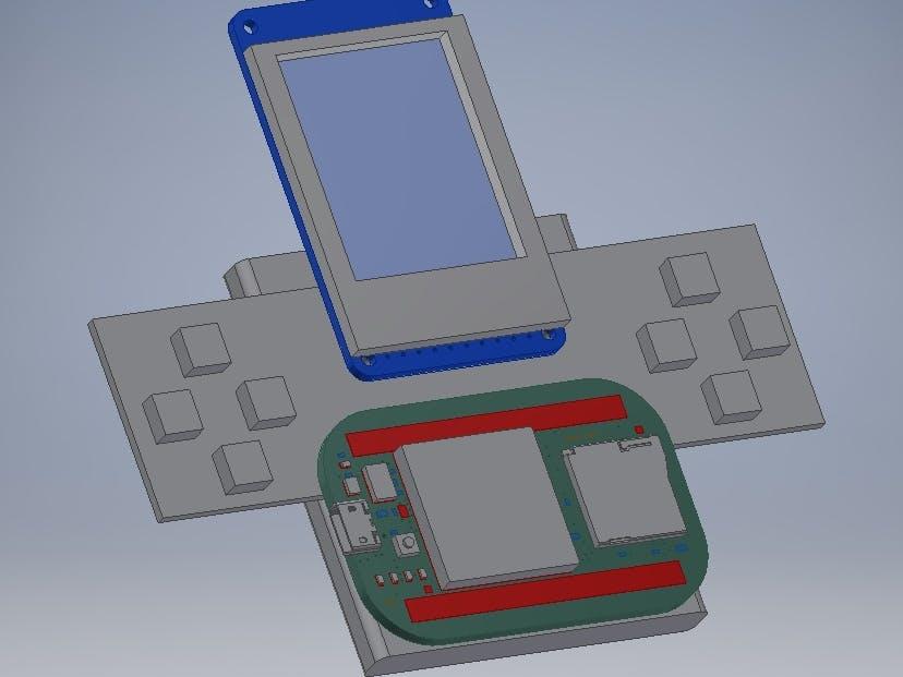 PocketBeagle simple gaming demo