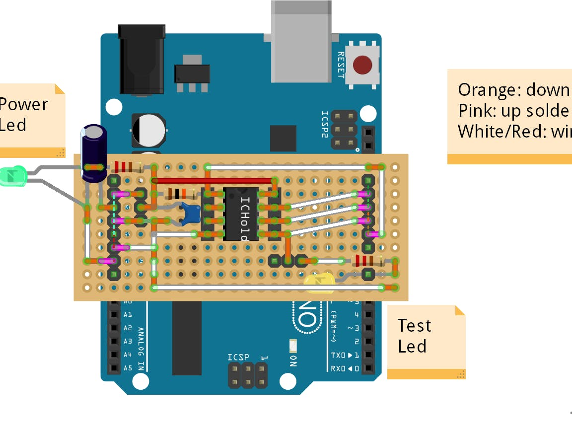 ATtiny Programmer Board (Arduino UNO as ISP)