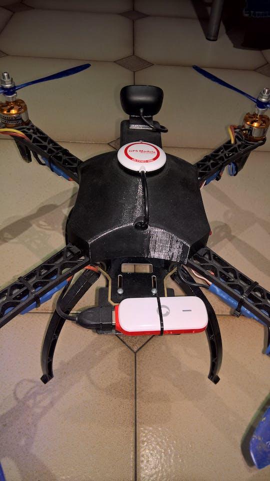 Drone Pi: A Windows 10 Raspberry Pi 4G Drone - Hackster io
