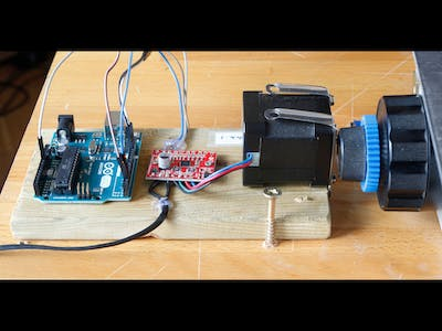 Driving a Focus Stacking Rail Using an Arduino