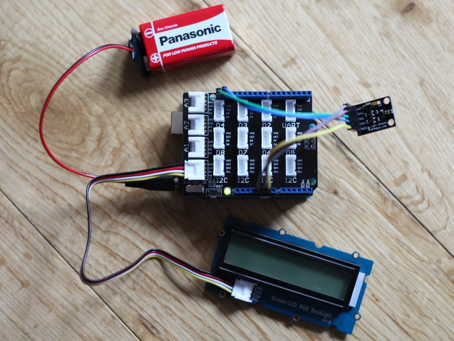 Light Meter To Measure Plant Growth Conditions
