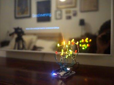 Alexa Controlled LEDs Through Arduino Yún