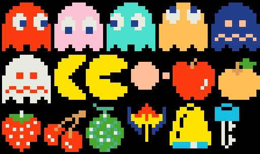 Pac-Man Game Sprites