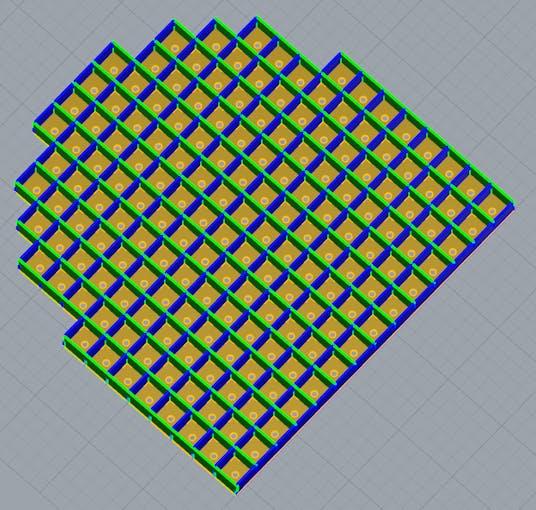 3d model of base