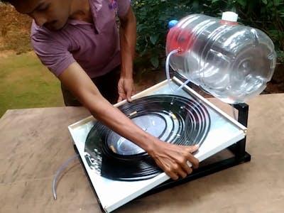Solar Water Heater DIY Tutorial