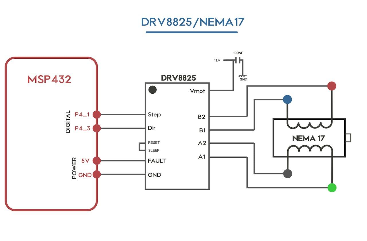 Solar Tracker Circuit Diagram
