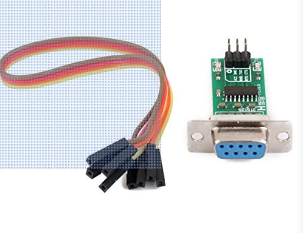 MAX232 serial level converter