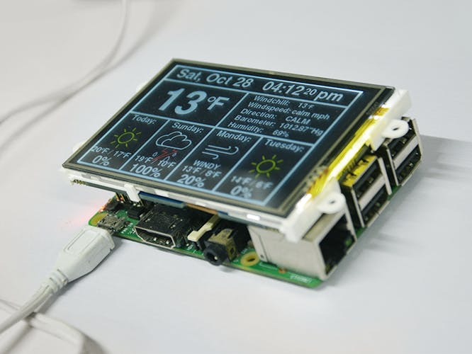 Raspberry Pi Internet Weather Station