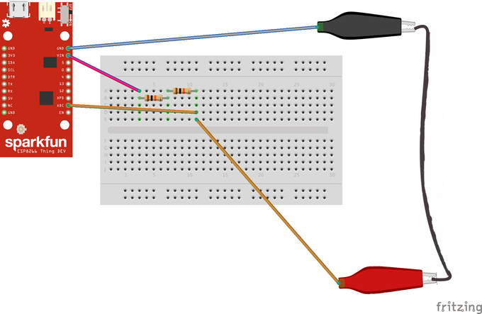 Measuring Stretch Forces With A Conductive Rubber Cord