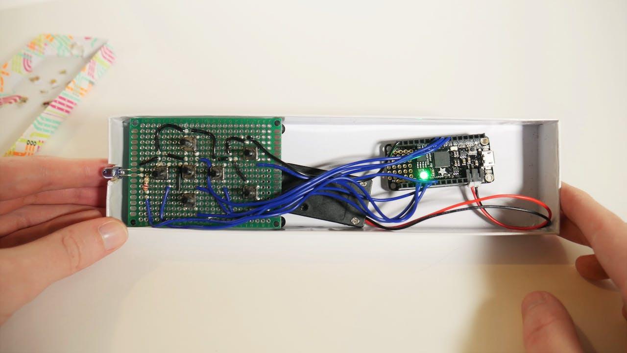 Circuit Python Ir Remote For Apple Tv Infraredtransmittercircuitlabeledonbreadboardjpg