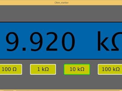 Arduino Ohm Meter