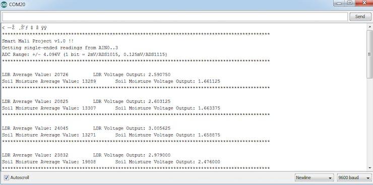 Soil_LDR_ADS1115_ESP8266_Output