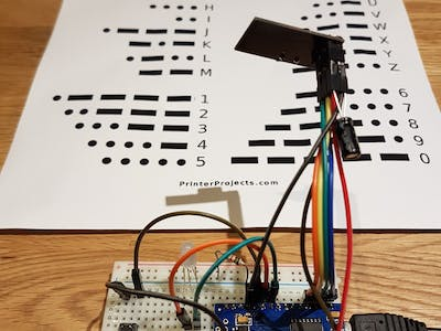 how to make a morse code machine for kids