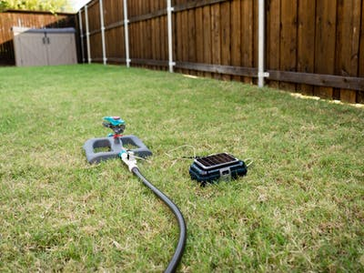 Solar-Powered, Internet-Connected Lawn Sprinkler Project