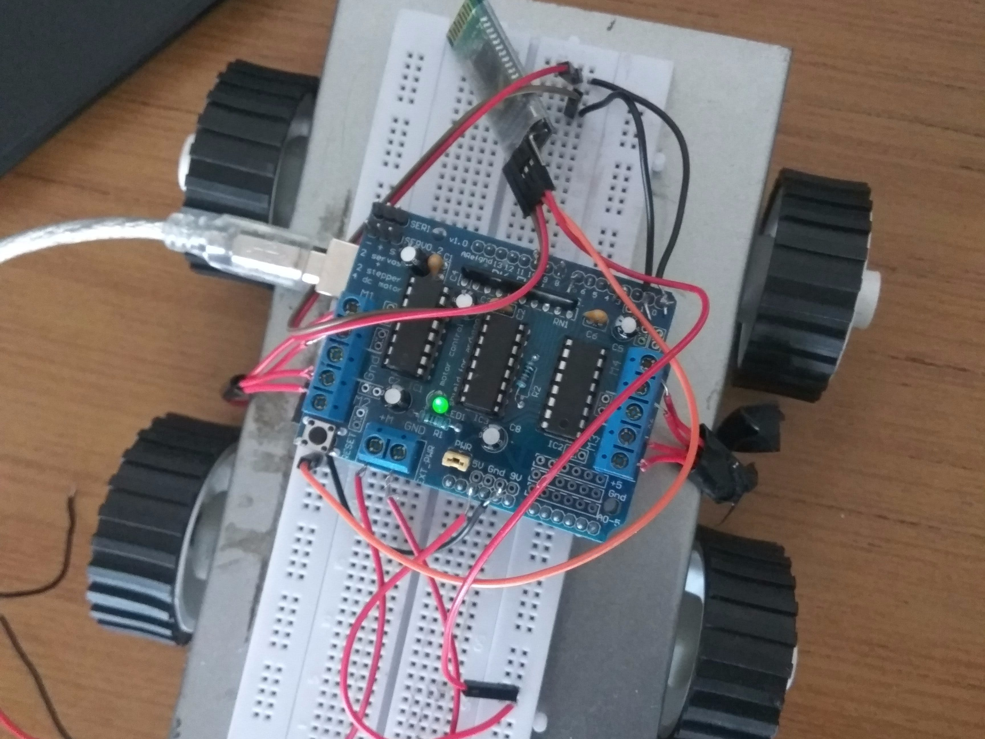 Arduino Bluetooth Racing Car