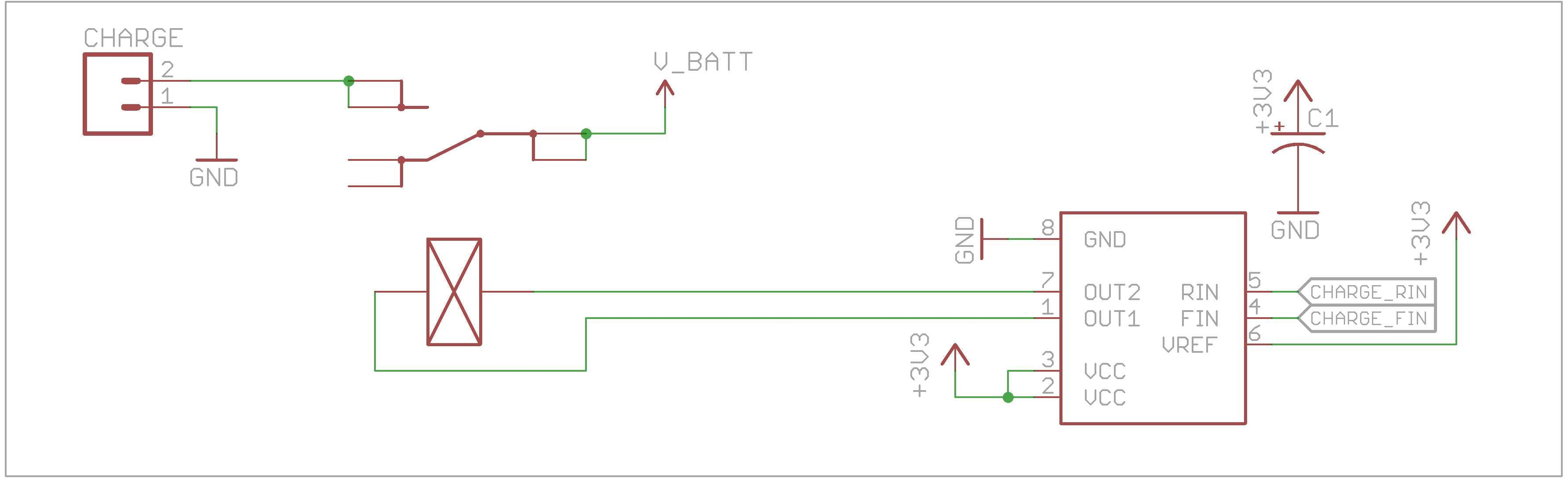 Latching relay circuit