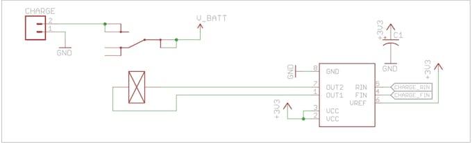 Latching relay circuit