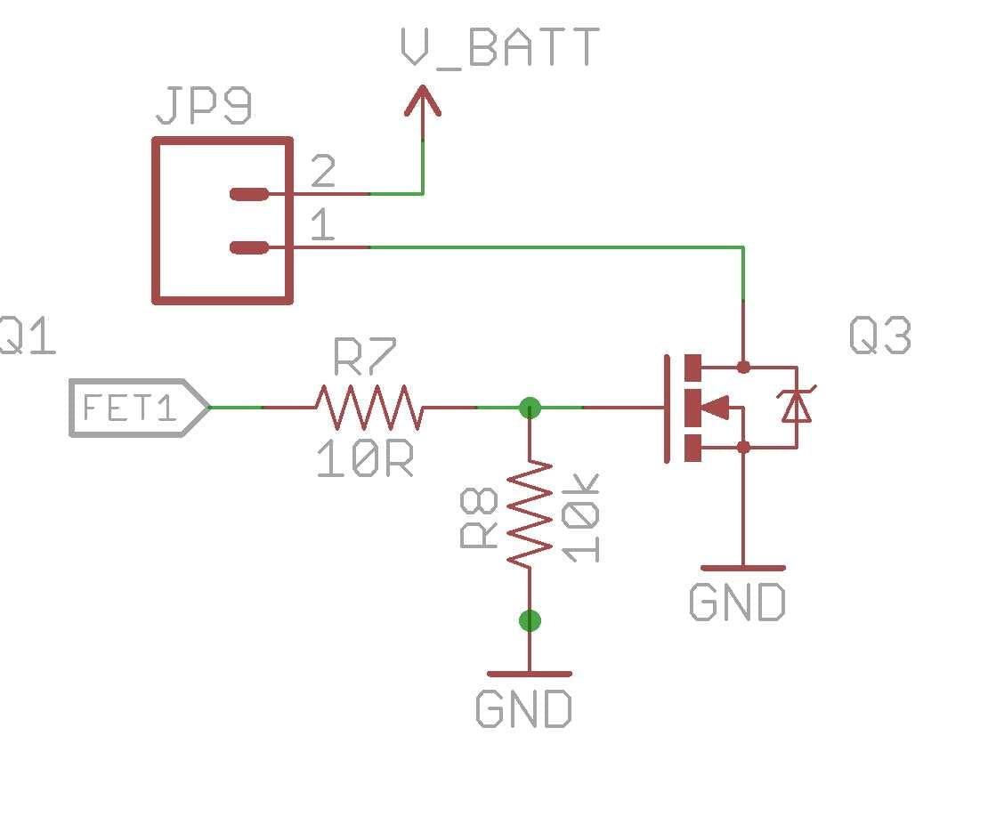 FET output configuration