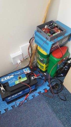 The current test setup