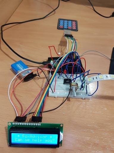 Finished prototype