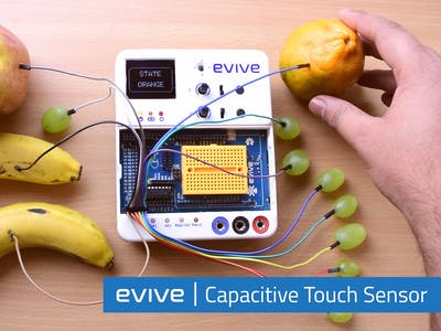 Capacitive Touch With evive (Arduino Based Controller)