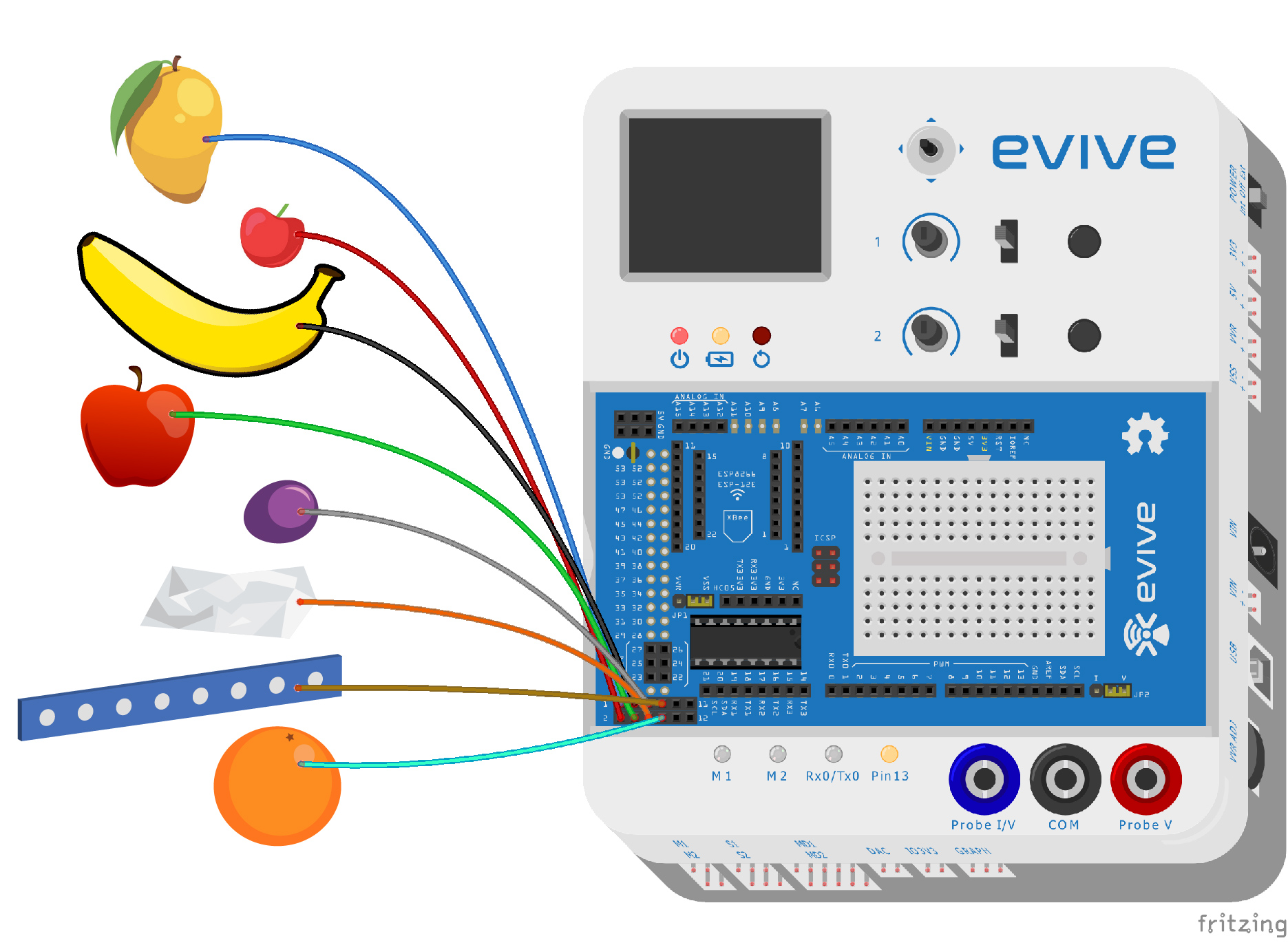Capacitive Touch With Evive Arduino Based Controller How To Build Simple Sensor Circuit Diagram Bb Wkaswlc8u8