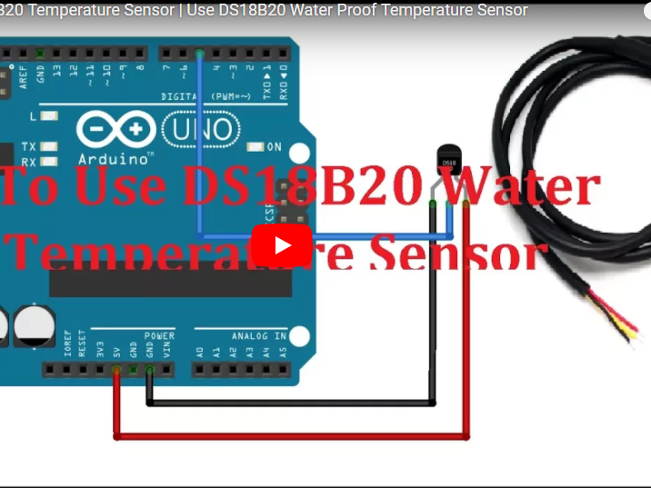 how to build simple onewire touch detector circuit diagram we  ds18b20 (digital temperature sensor) and arduino arduino project hub how to build simple onewire touch detector circuit diagram