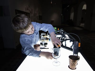 Soft Manipulator - Interactive Robotic Installation