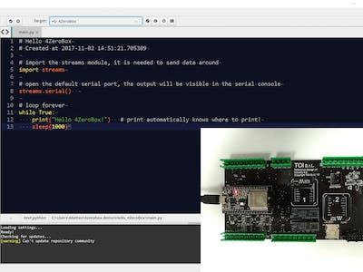 Python on ESP32 for Industrial IoT Applications