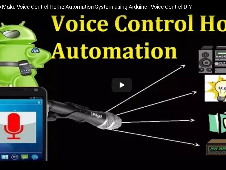 Voice Control Home Automation System Using Arduino and HC-05