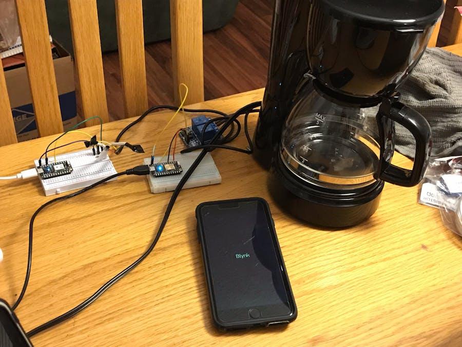 Coffee Starter Using Blynk
