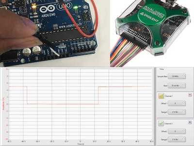 Measuring An Arduino Servo Signal With An AD2 In LabVIEW