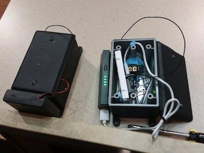 WiFi Tripwire Alarm System