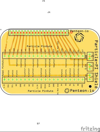 Particle Pi Shield