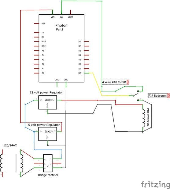 Security Wiring Diagram
