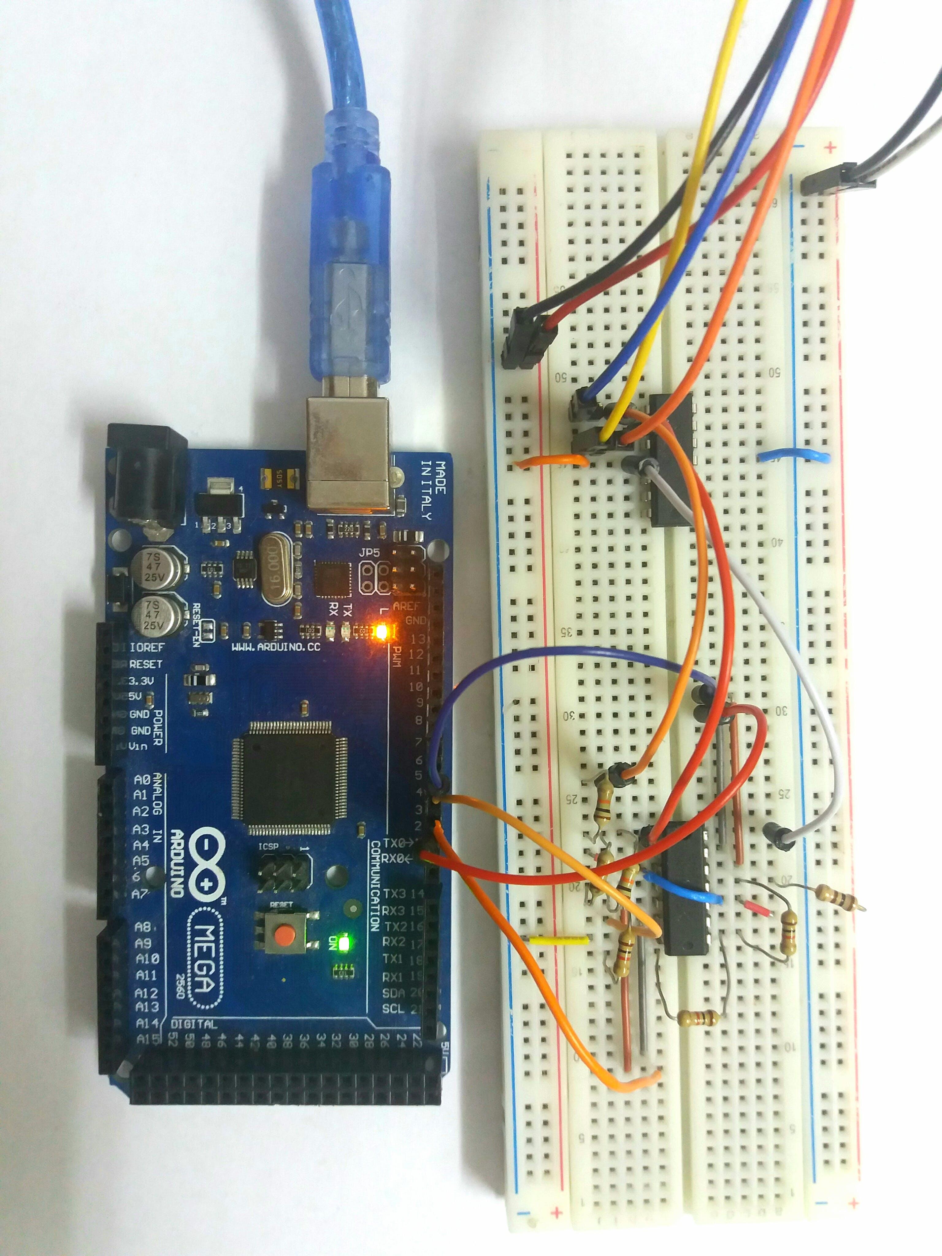 Arduino Variable Gain Amplifier