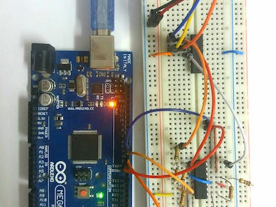 Arduino Variable Gain Amplifier