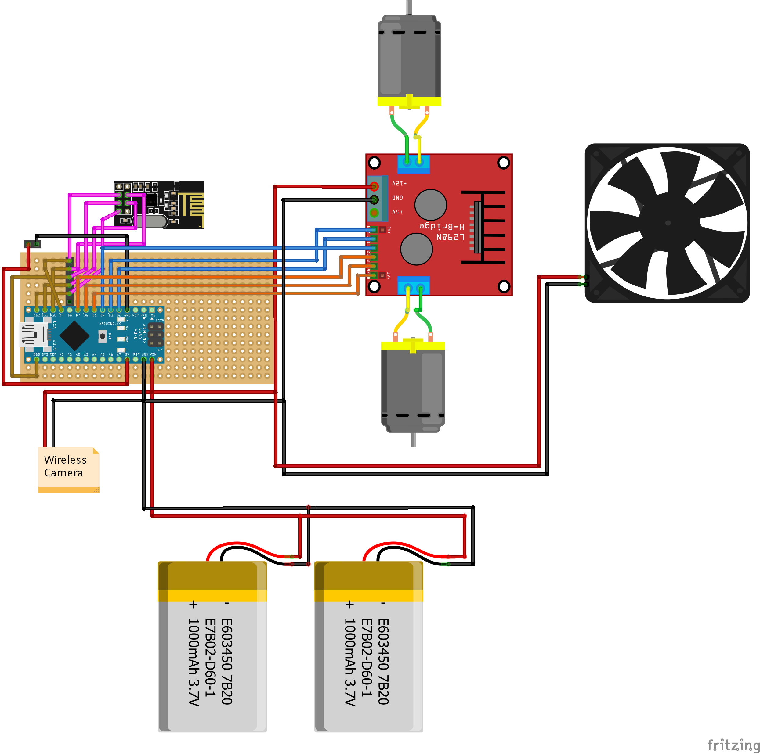 Fpv Rc Car Wireless Camera Diagram Schematic V1 1 Rx Tz6smedepk