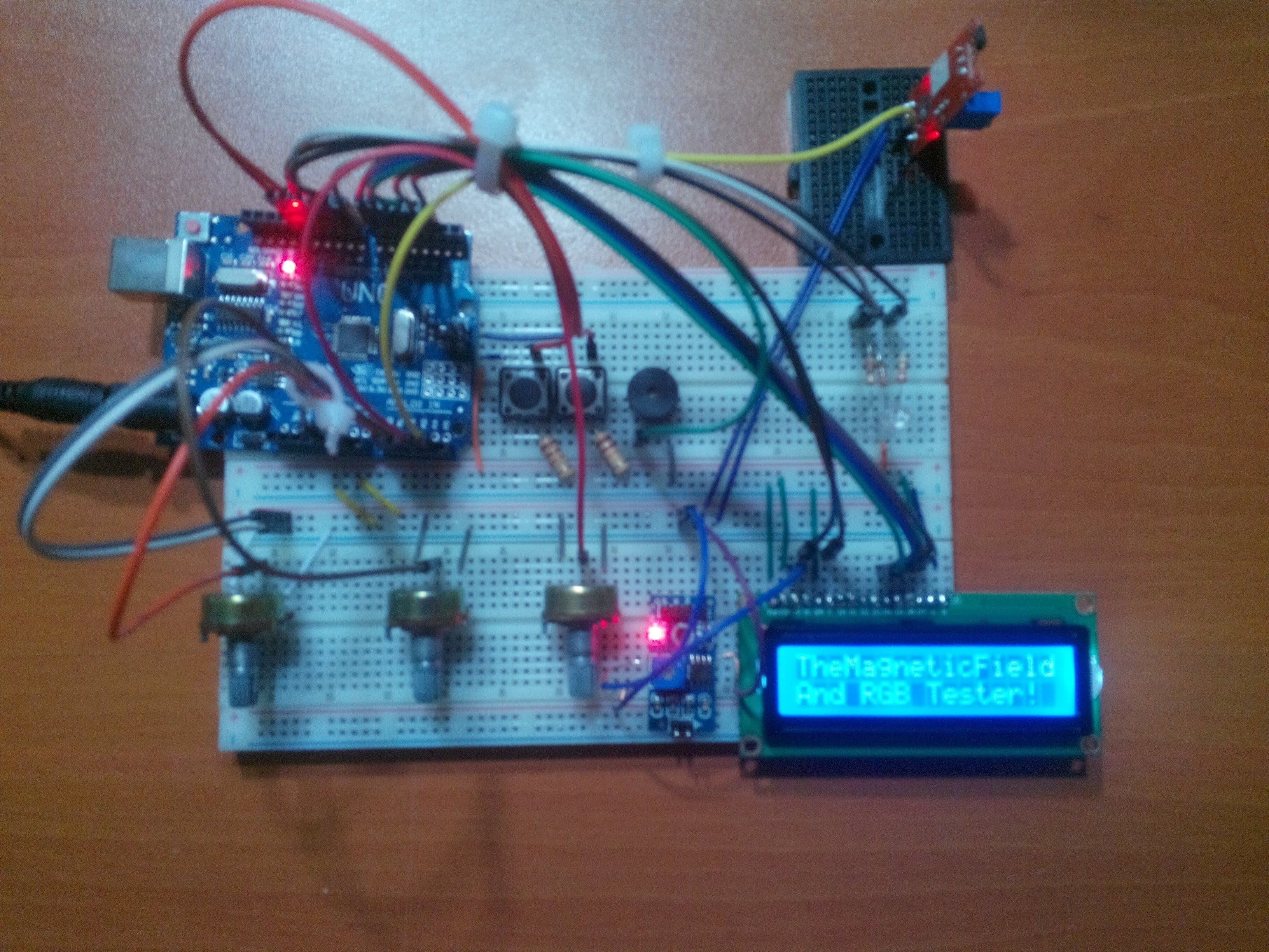 The Magnetic Field and RGB Tester