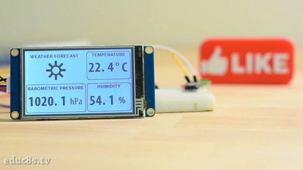 ESP32 WiFi Weather Station With a BME280 Sensor - Hackster io