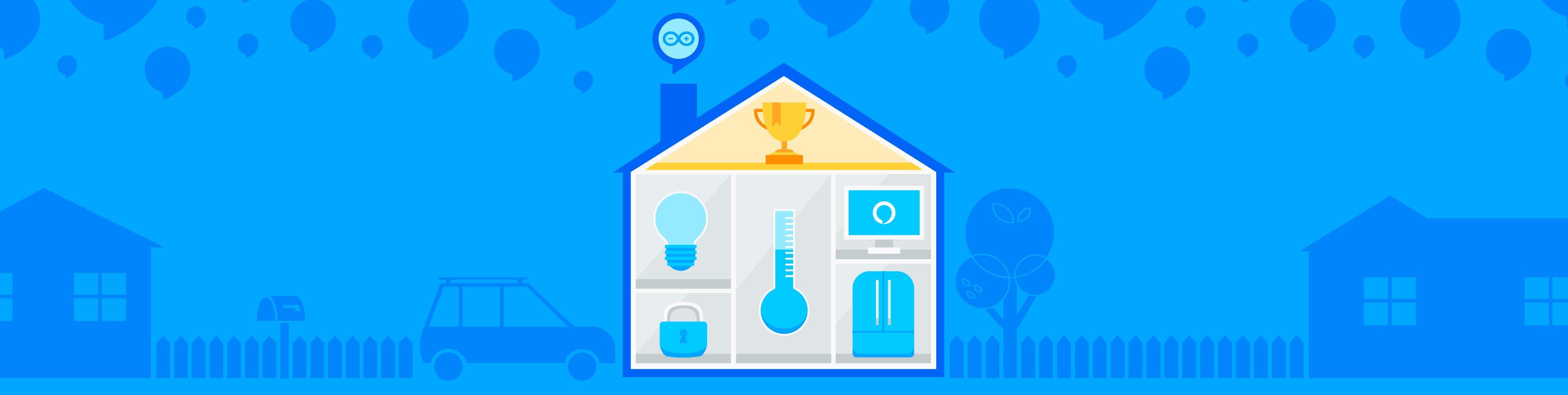 The Alexa and Arduino Smart Home Challenge