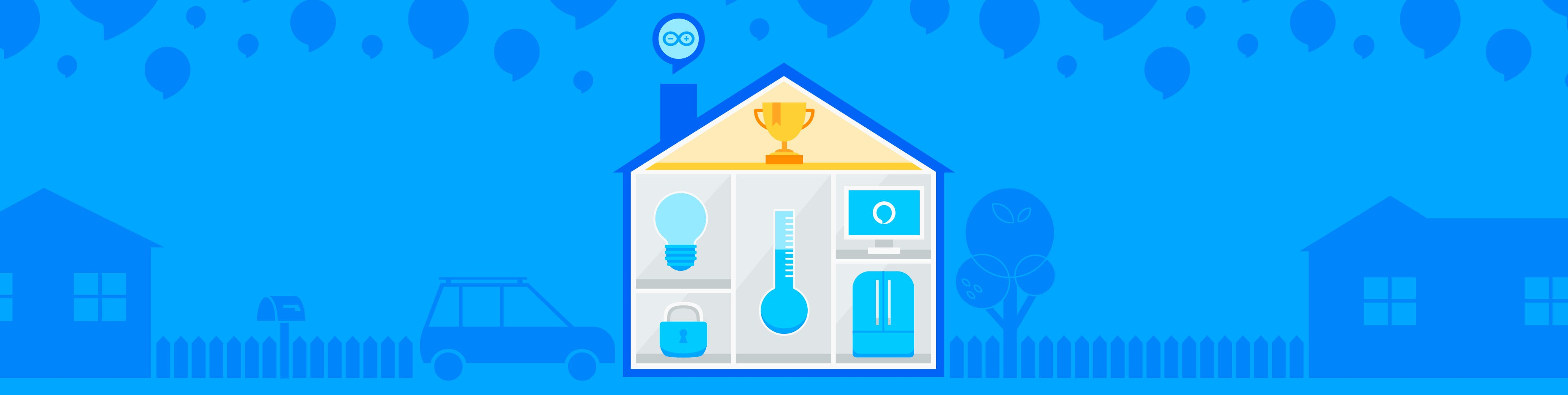The Alexa and Arduino Smart Home Challenge